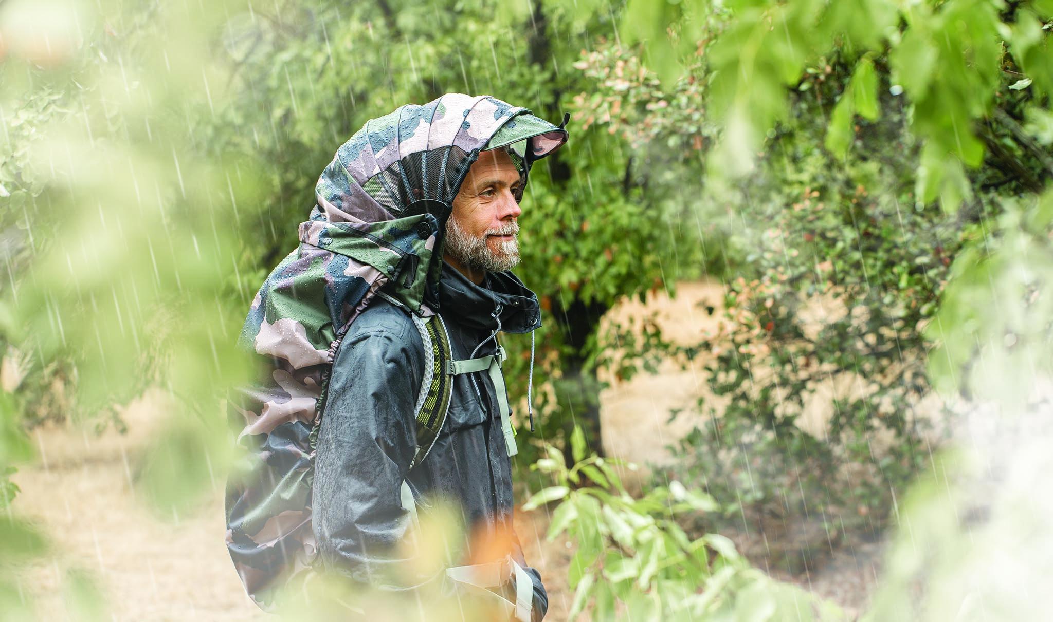 Overcap protection cape de pluie sac à dos