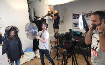 Dernier jour de tournage de la vidéo OVERCAP !